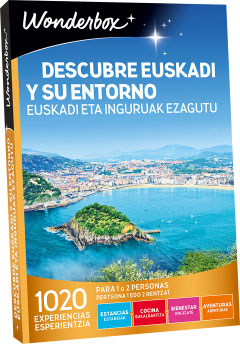Descubre Euskadi - Regalo Wonderbox