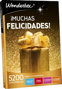 Muchas felicidades regalo